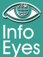 Info Eyes logo 150 by 198 pixels